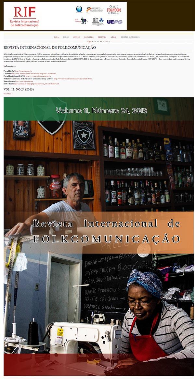Revista Internacional de Folkcomunicação