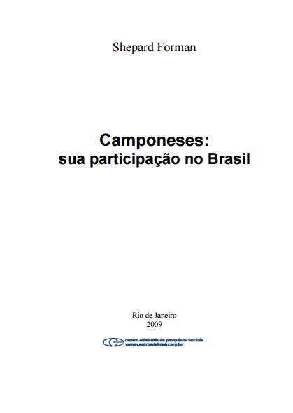 Camponeses - sua participação no Brasil