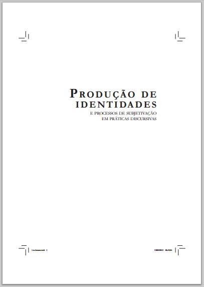 Produção de identidades