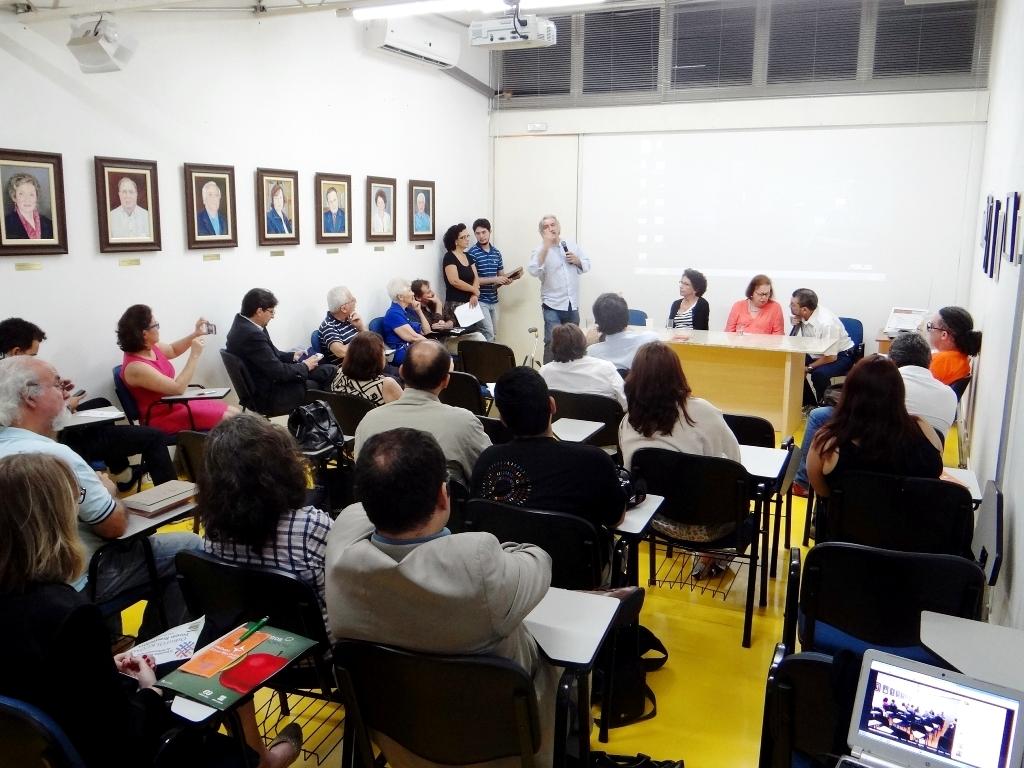 Solenidade de diplomação  de novos integrantes do COBRAS - organismo de cooperação acadêmica  instituído pelo Conselho Curador da INTERCOM.