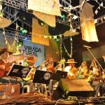 Orquestra Paulistana de Viola Caipira toca na Virada Cultural 2015, em São Paulo. Foto: Vanessa Vendrame.